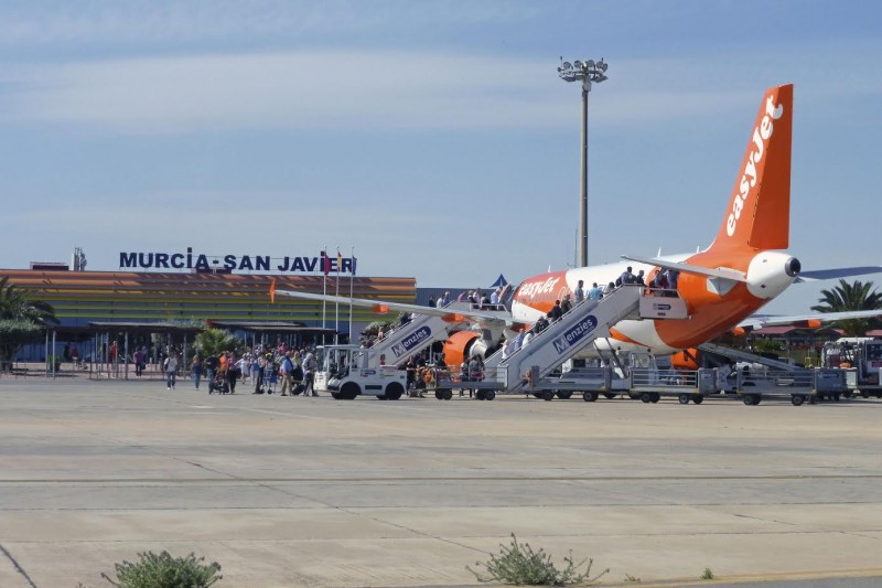 <span style='color:#780948'>ARCHIVED</span> - Murcia-San Javier airport