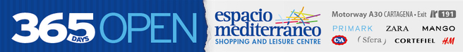 Espacio Mediterraneo Shopping Center Cartagena Spain