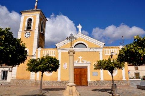 Parish church of Nuestra Señora del Rosario in Corvera