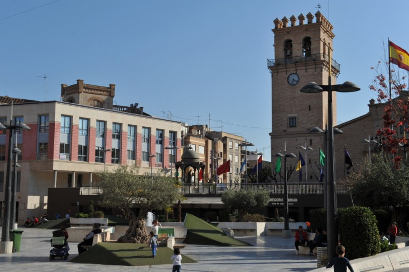 Plaza de la Balsa Vieja in Totana