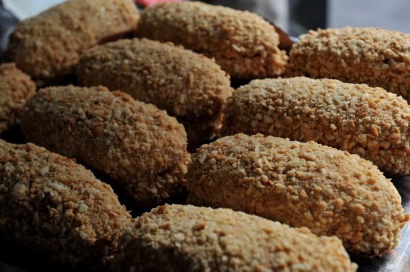 Sweet pastries in Puerto Lumbreras
