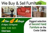 A Time 4 A Change Second Hand Furniture, El Algar and Los Alcazares