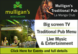 Mulligans Bar La Manga Club