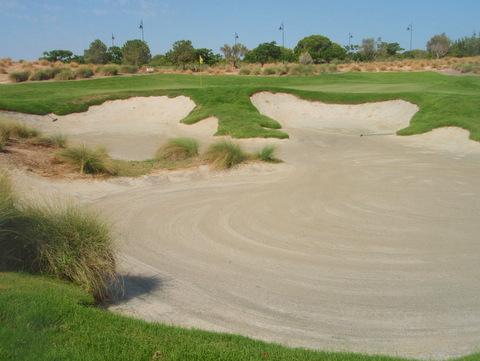 Golf course at Hacienda Riquelme