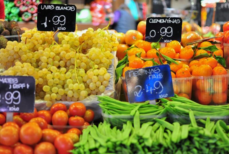 Weekly street market in Corvera