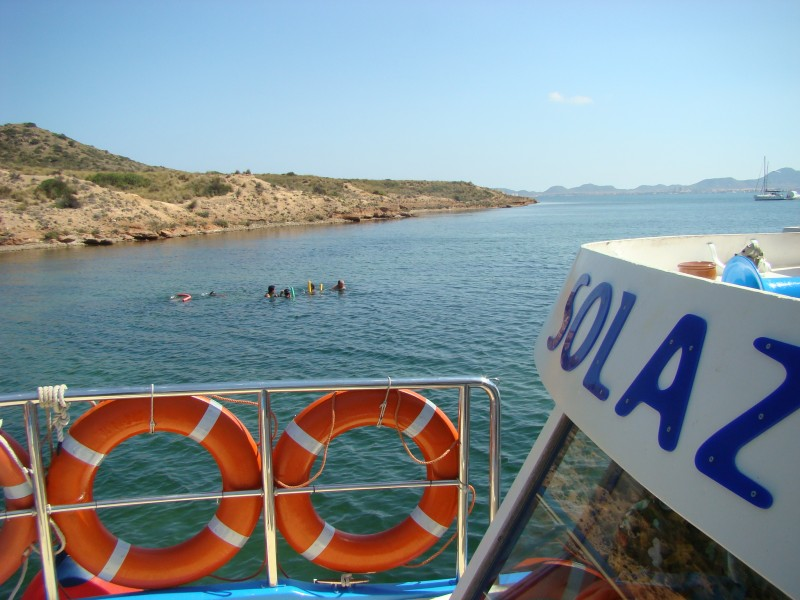 <span style='color:#780948'>ARCHIVED</span> - Boat trips from La Manga with Solaz Lines