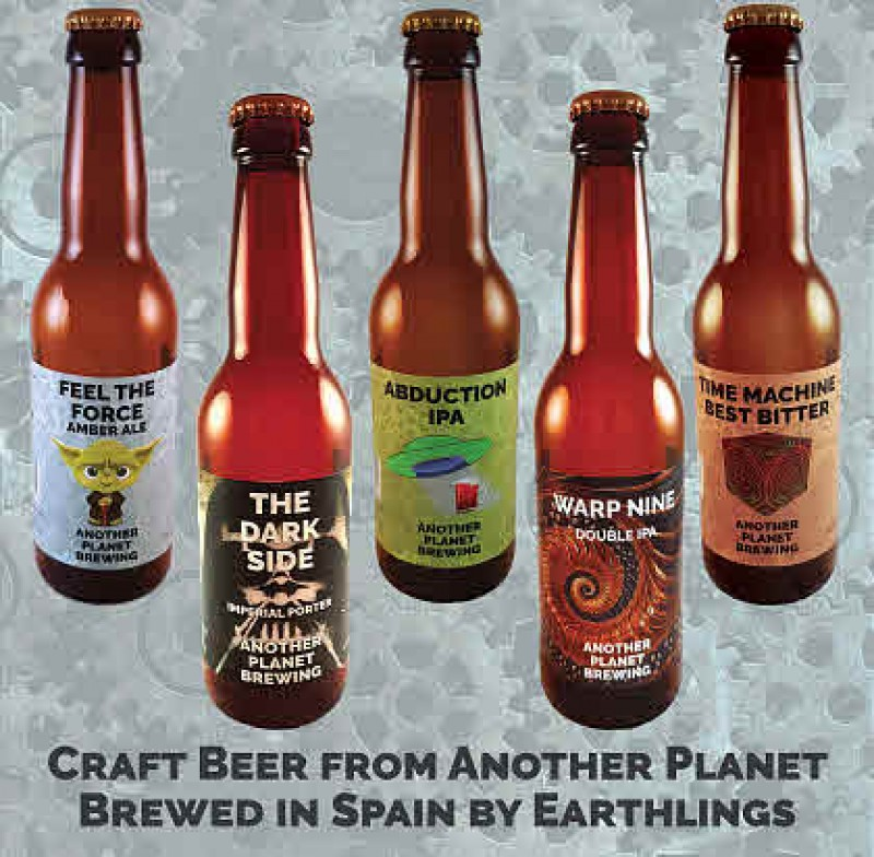 Craft Beer Tours and Tasting at Another Planet Brewery Torre Pacheco