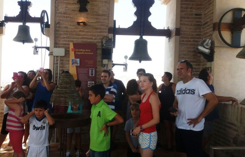 Every Saturday: free guided visits of Totana church tower and museum
