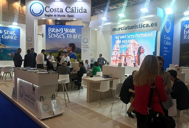 <span style='color:#780948'>ARCHIVED</span> - Murcia pushes Corvera airport at the World Travel Market in London