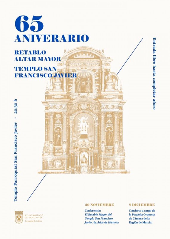 <span style='color:#780948'>ARCHIVED</span> - 8th December Chamber music in the Church of San Francisco Javier, San Javier