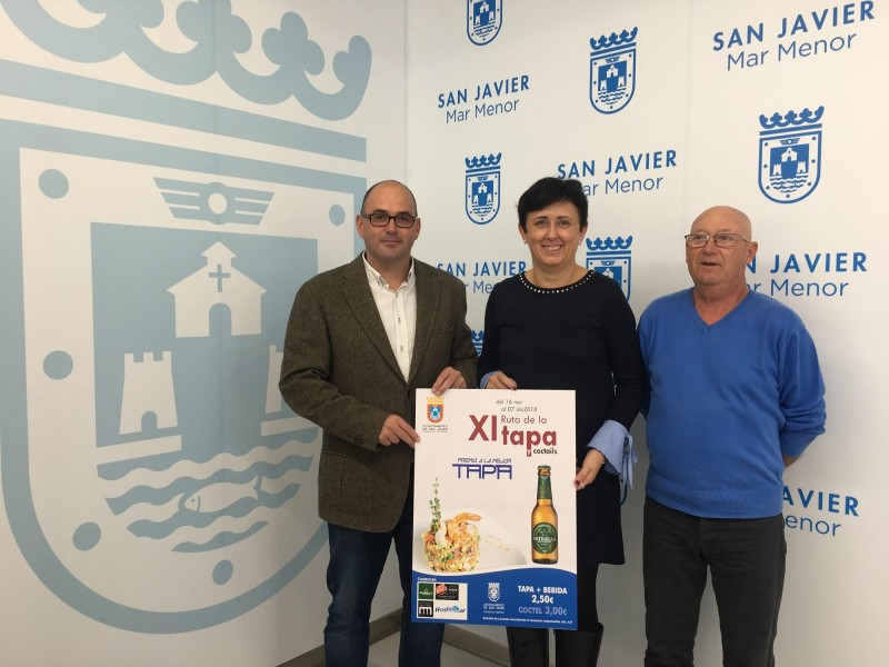 <span style='color:#780948'>ARCHIVED</span> - 16th November to 7th December San Javier Tapas Route