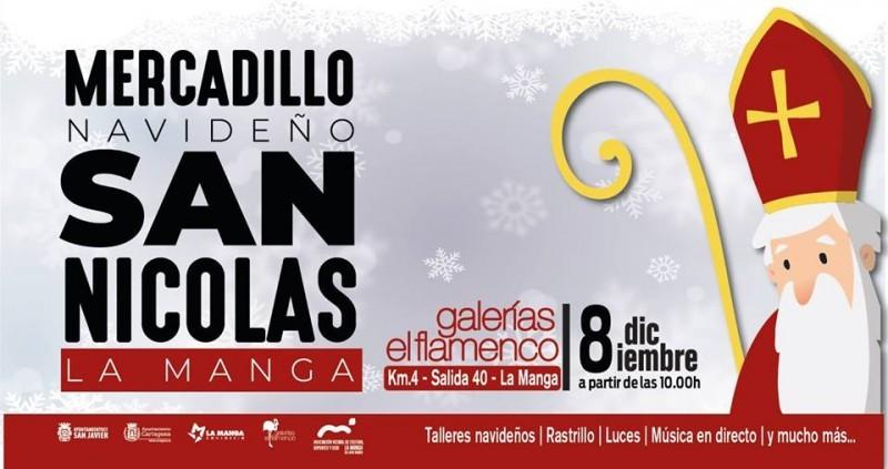 <span style='color:#780948'>ARCHIVED</span> - Saturday 8th December La Manga del Mar Menor Christmas mini market