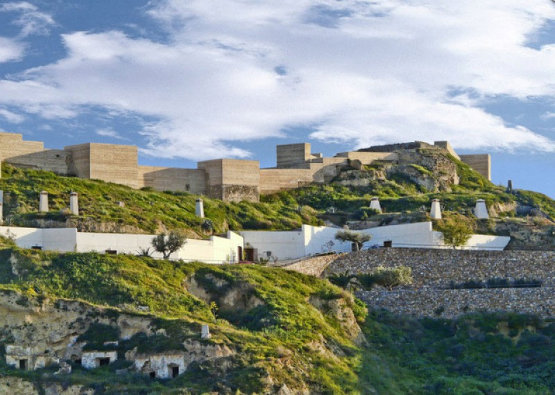Puerto Lumbreras: Saturday and Sunday tours of the Medina Nogalte castle and cave house complex