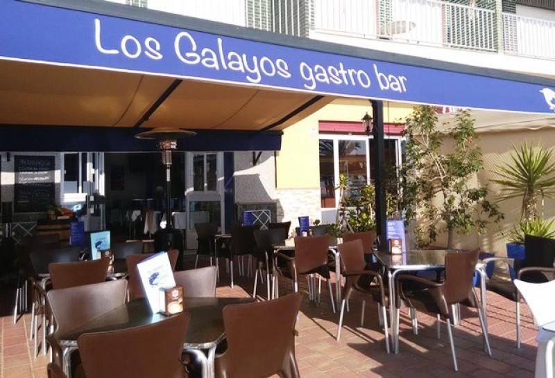 Restaurante-Bar Los Galayos seafront dining in Puerto de Mazarrón