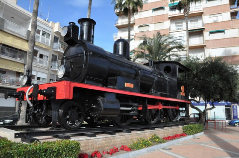 <span style='color:#780948'>ARCHIVED</span> - 12th May FREE route of the railways tour in Águilas