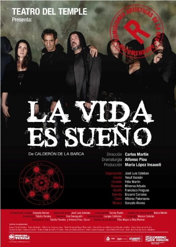 <span style='color:#780948'>ARCHIVED</span> - Saturday 27th April Spanish language theatre La Vida es Sueño in Águilas