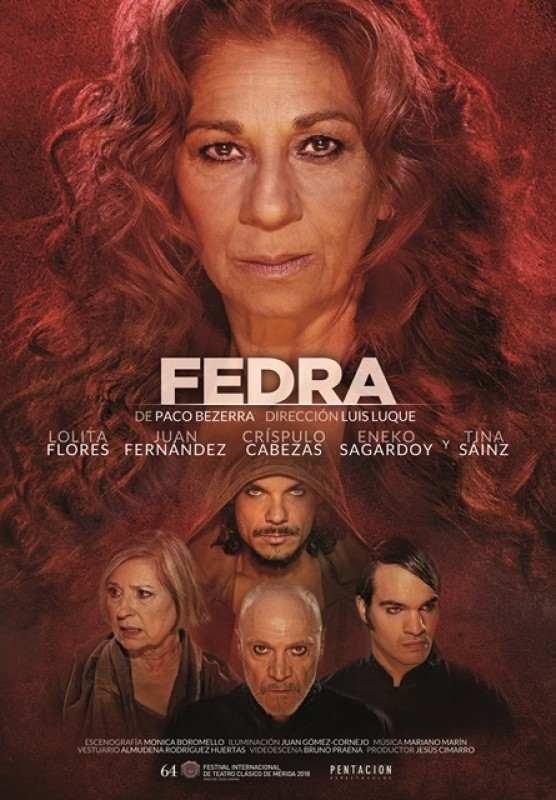 <span style='color:#780948'>ARCHIVED</span> - Friday 3rd May Spanish language theatre in Águilas: Fedra