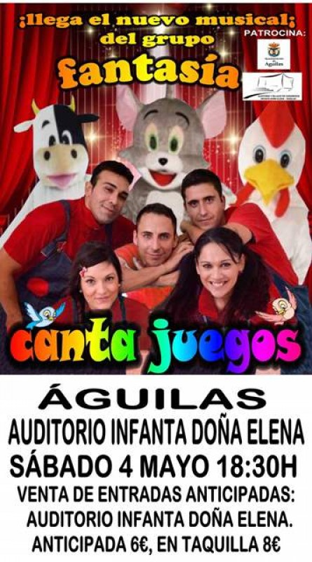 <span style='color:#780948'>ARCHIVED</span> - Saturday 4th May Family storytelling and music in Águilas