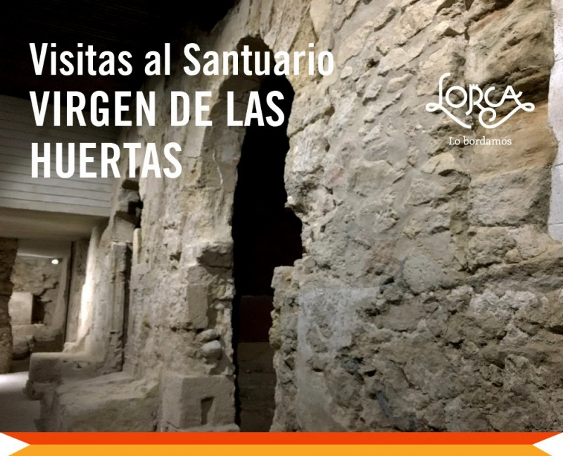 <span style='color:#780948'>ARCHIVED</span> - 4th May Guided tour of the Virgen de las Huertas convent in Lorca