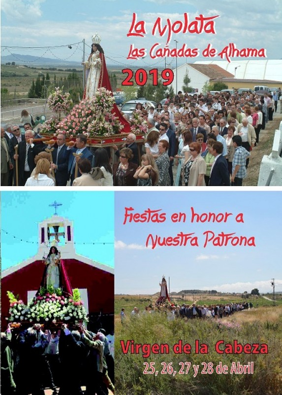 <span style='color:#780948'>ARCHIVED</span> - 26th to 29th April Fiestas in La Molata, Cañadas de Alhama in Alhama de Murcia