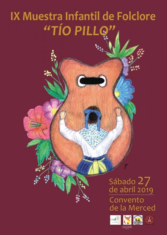 <span style='color:#780948'>ARCHIVED</span> - Saturday 27th April Free entry juvenile folk dancing festival in Lorca