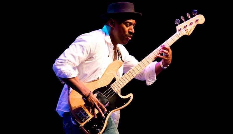 July 19th Marcus Miller, Roberta Gambarini at the San Javier Jazz Festival