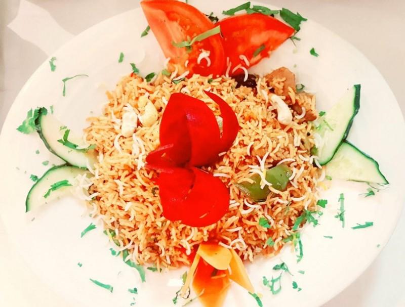 Menú del Día for 12.95 euros at Masala Cottage Indian restaurant in Los Alcazares