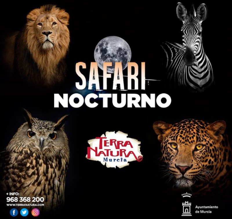 <span style='color:#780948'>ARCHIVED</span> - Night-time summer safari tours of Terra Natura Murcia wildlife park