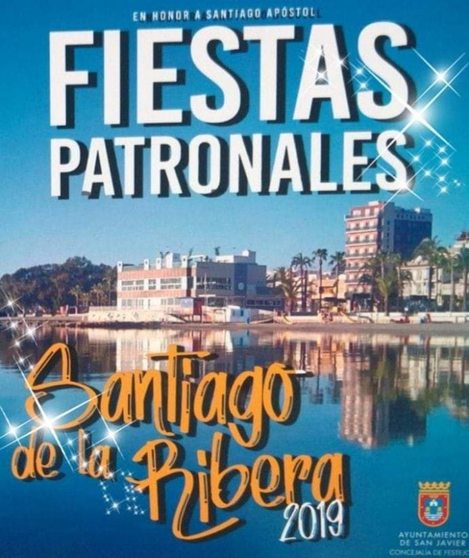 <span style='color:#780948'>ARCHIVED</span> - 11th July to  24th August, summer fiestas in Santiago de la Ribera