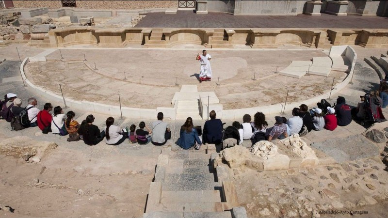 <span style='color:#780948'>ARCHIVED</span> - September tours and guided activities at the Roman Theatre Museum in Cartagena