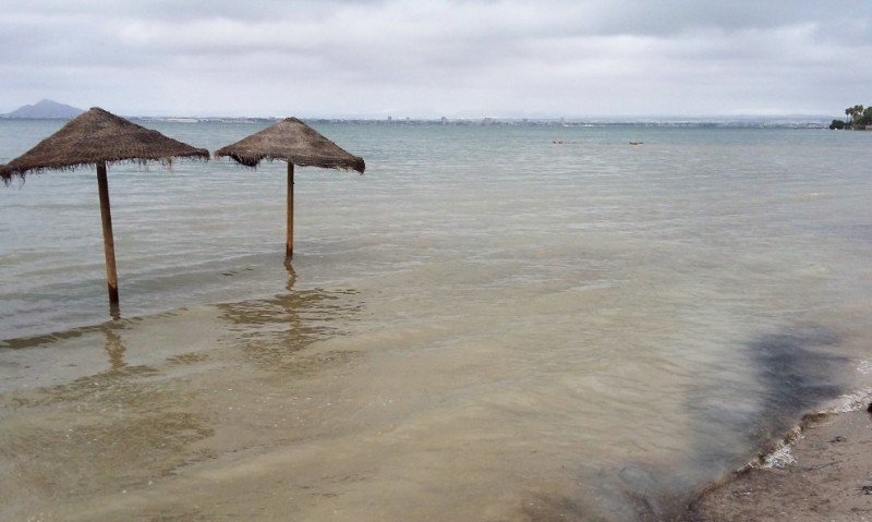 <span style='color:#780948'>ARCHIVED</span> -  Rambla del Albujón breaks its banks and floods AP-7