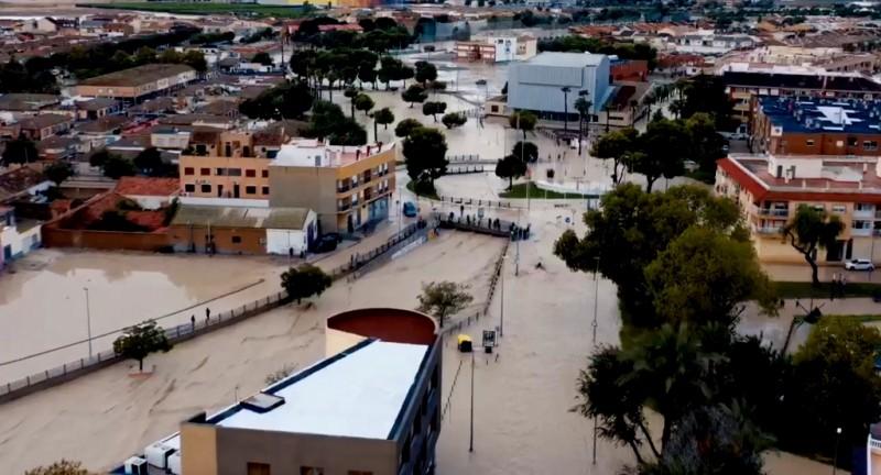 Murcia Gota Fría storm and flooding September 2019: overview