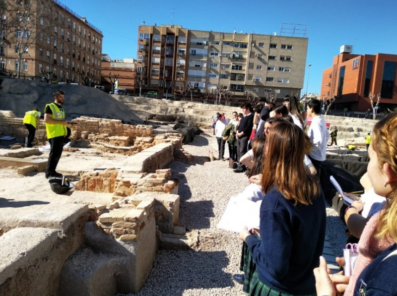 <span style='color:#780948'>ARCHIVED</span> - Until 10th December, free guided visits to the San Esteban archaeological dig in the centre of Murcia