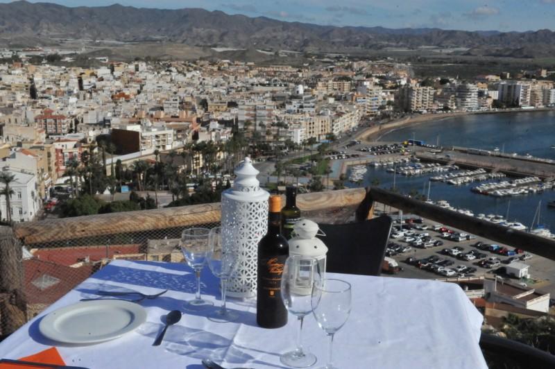 15€ Menu del Día at the Zoco del Mar restaurant in Águilas