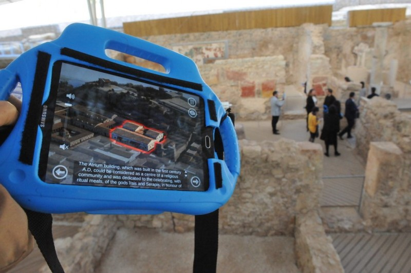 <span style='color:#780948'>ARCHIVED</span> - New technology changes the way we see the Roman world of Cartagena