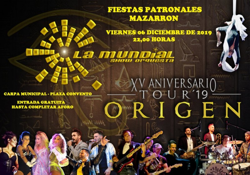 <span style='color:#780948'>ARCHIVED</span> - 29th November to 8th December 2019, annual Fiestas Patronales in Mazarrón