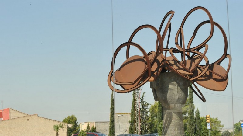 Urban sculptures in Molina de Segura