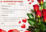 14th to 16th February Valentines menu at Viggos Puerto de Mazarrón