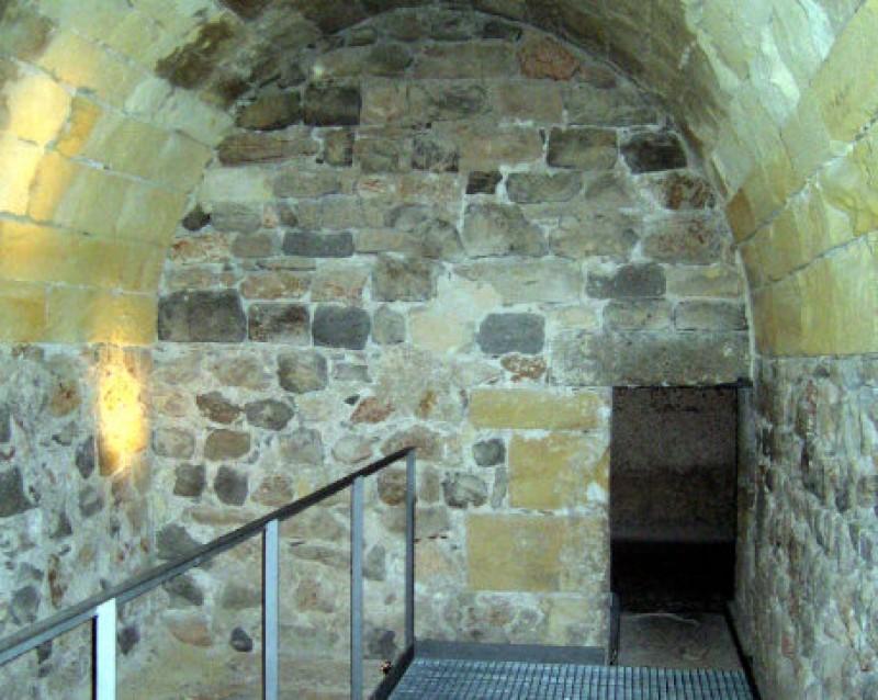The Castillo de la Concepción, a hilltop fortress at the highest point in the historic city of Cartagena