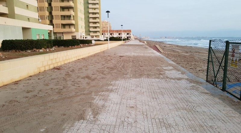 <span style='color:#780948'>ARCHIVED</span> - Restoration and cleaning continue at the Mar Menor and Mediterranean beaches of Cartagena