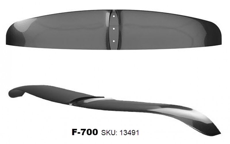 The AFS 95 Windsurf foil could be called «AFS-2 perf», but it's still easy to enjoy.