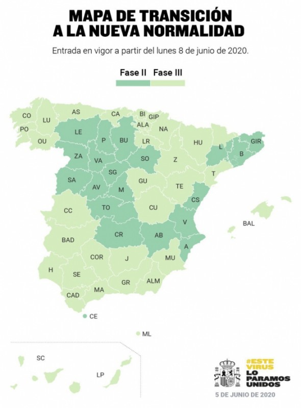 <span style='color:#780948'>ARCHIVED</span> - Murcia Region moves into phase 3 on Monday