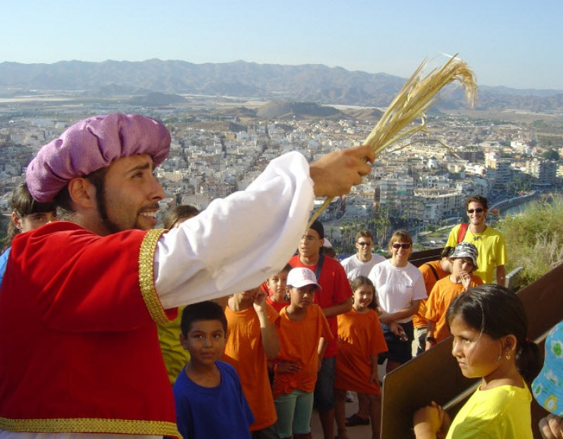 Sunday 11th October FREE guided theatrical route around Águilas