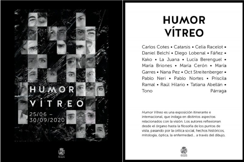 <span style='color:#780948'>ARCHIVED</span> - Humor Vitreo in Cartagena until 30th September