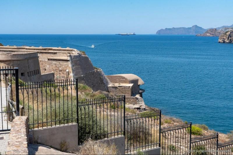 Sendero Azul gentle walking route from Cartagena port to Cala Cortina