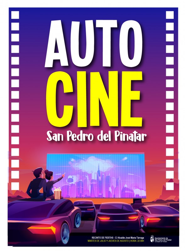 Tuesday night auto-cine in San Pedro del Pinatar