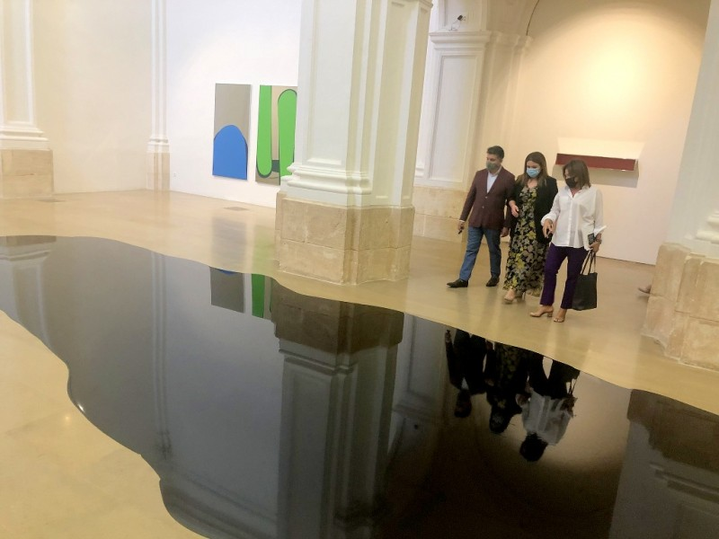 <span style='color:#780948'>ARCHIVED</span> - Rainer Splitt opens Chromotopia at the Sala Verónicas in Murcia