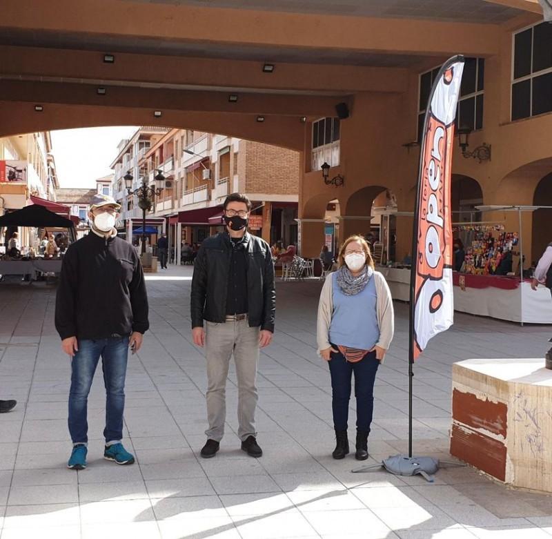 New Saturday artisan market in Los Alcazares