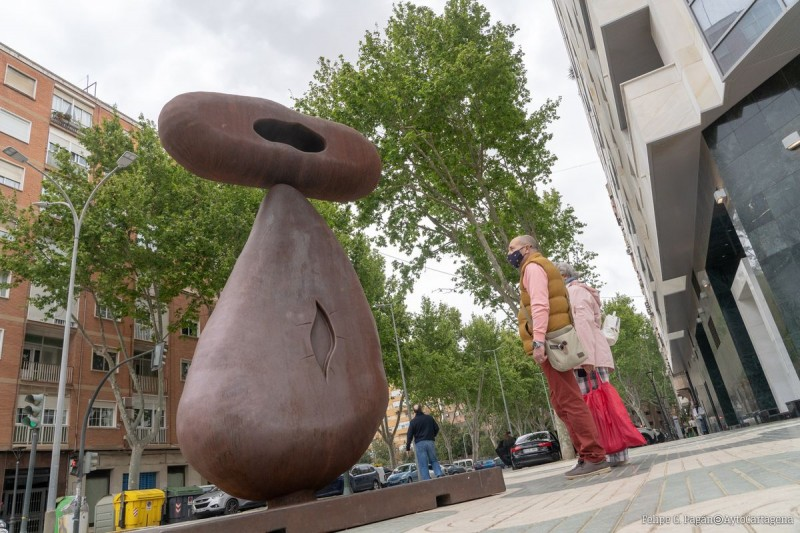 <span style='color:#780948'>ARCHIVED</span> - Until 5th July, Esculturas Monumentales by Juan Méjica, open-air sculpture exhibition in Cartagena