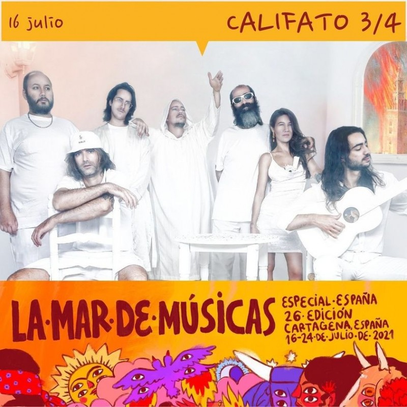 <span style='color:#780948'>ARCHIVED</span> - La Mar de Músicas returns to open-air venues in Cartagena this July